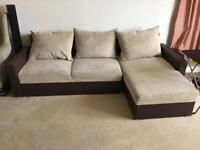 Ikea Sofa Bed with Storage underneath