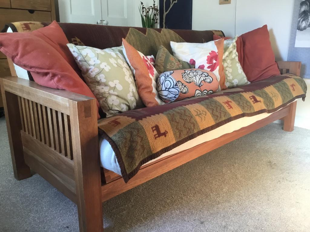 Quality Futon From The Company Double Bed 3 Seater Bifold Excellent Condition