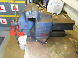 RECORD No 112 QUICK RELEASE HEAVY DUTY BENCH VICE