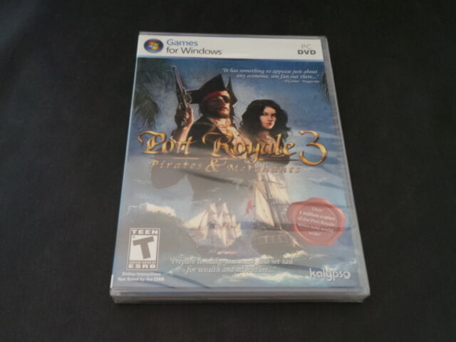PC Game Port Royale 3 Pirates and Merchants New Sealed