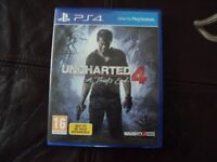 Uncharted 4 one of the best ps4 exclusives and highly rated. the game