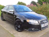 !!1 PREV OWNER!! 2005 AUDI S4 4.2 V8 / MANUAL GEARBOX / 12 MONTHS MOT / FULL SERVICE HISTORY / BLACK