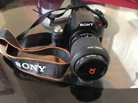 DSLR Camera Sony Alpha A390: 14.2mp digital SLR camera - FREE POST