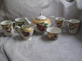 Vintage Churchill Fine English China Tea Set
