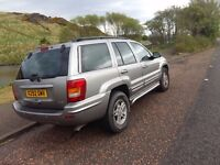 Jeep Grand Cherokee V8 Petrol - Priced to sell