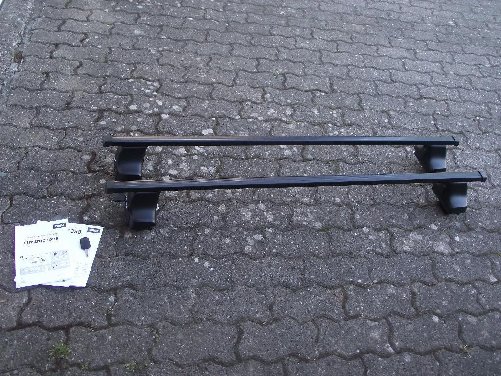 thule roof bars instructions