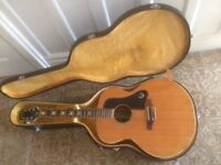 1970's Epiphone FT-570bl with original hard case