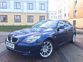2007(57) BMW 520 D MANUAL 6 SPEED BLUE SWAP/ PX WELCOME