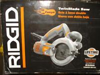 DOUBLE BLADE SAW