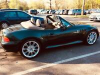 1999 BMW Z3 2.8 widebody loaded heated seats electric roof history