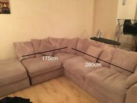 6 seater sofa.