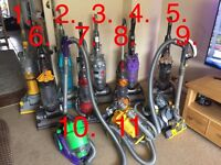 Refurbished dyson vacuums, Hoovers, text or email only please