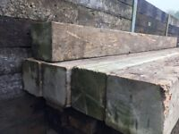 Large Light colour Softwood timber Beams/Wooden Beams