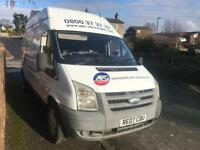 Ford transit t350 115 6 speed2007 2.4 td high top breaking spares