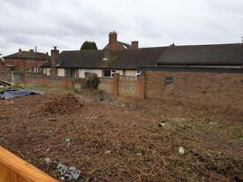 Building Plot Telford, full planning for 3 bed detached house