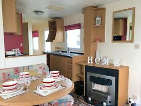 CHEAP STATIC CARAVAN FOR SALE AT SANDY BAY HOLIDAY PARK, 2017 SITE FEES INCLUDED, FINANCE AVAILABLE