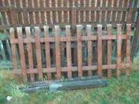 used picket fence