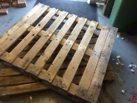 Wooden Pallets x 4 **ready for free collection **