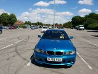 Bmw 320d coupe rare individual blue