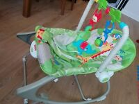 Fisher-Price Rainforest Infant to Toddler Rocker - As New!