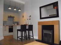 SUPERIOR NEW TO MARKET -ONE BED FULLY FURNISHED FLAT IN GORGIE
