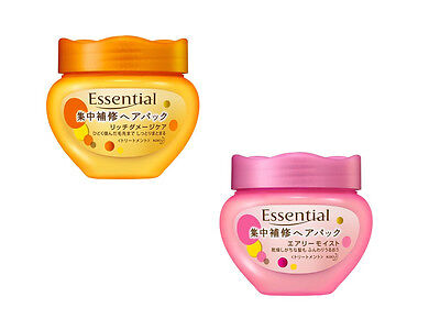 Essential Damage Care - Kao Essential Ultra Honey Intensive Hair Mask Rich Damage Care / Airy Moist