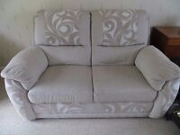 2 seater sofa as new