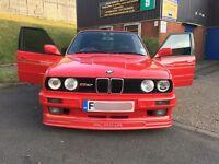 BMW E30 325i TOURING ESTATE AUTO F REG 1 OF RARE ALPINA SPEC