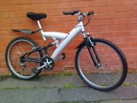 Silver Fox mountain bike - Mudguard , Aluminium frame !