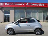 2012 Fiat 500 LOUNGE-CABRIOLET-LEATHER-BOSE-NAVIGATION-I OWNER