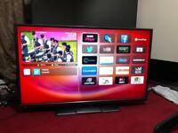 42 inches Hitachi Smart tv with Remote in perfect conditions
