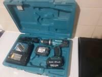 18V Makita LXT Hammer Drill & Screw Driver.