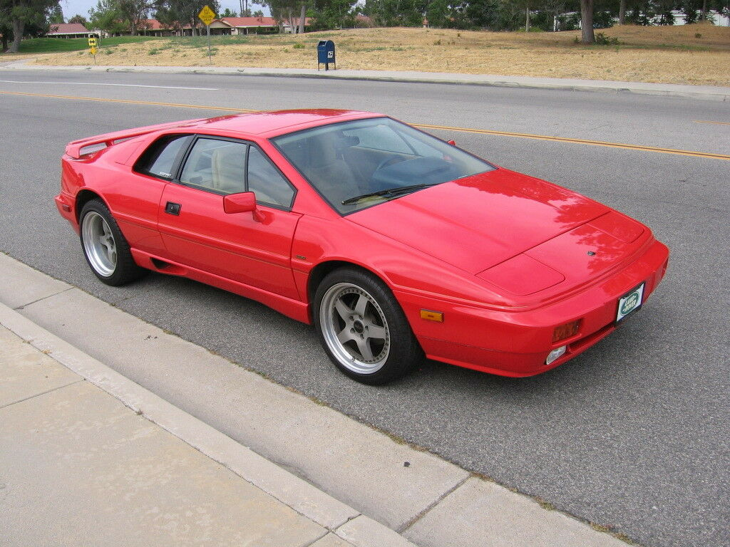 1988 Lotus Esprit HCPI Turbo 88' Lotus Esprit Turbo Rare Exotic Collector Red 29k 70 pics,1 of 375 No Reserve