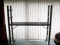 Solid Combi ladder / scaffold and platform, used once.