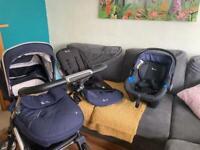Silvercross Wayfarer - Stroller, Pram and Newborn Car Seat
