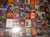 OVER 100 DVDS ** NEW AND USED ** 140 MOVIES ** DVD COLLECTION ** COMEDY - ACTION - clacton CO15 6AJ