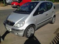2002 Mercedes A140 man bargain cheap!!!