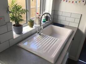 Lamona Ceramic Single Bowl Kitchen Sink