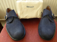 Bally navy suede casual shoes – size 9