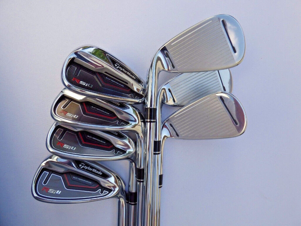 New Taylormade RSi irons set 5 to PW (Free Headcovers & 3x New Taylormade Burner Balls)