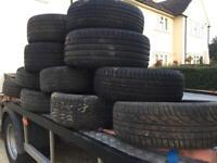 Part worn tyres cheap tyres 14s 15s 16s 17s 18s
