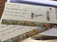 Celebrity cup, celtic manor Newport x2