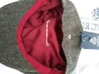 Drew Pritchard Harris Tweed cap Failsworth