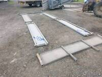 Ifor williams drop sides headboard and posts for a 14 ft x 6.6 trailer