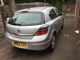 VAUXHALL ASTRA 2007 1.4L SXI LOW MILEAGE!!! OFFERS!!!