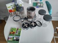 NUTRiBULLET Pro 900 Series Extractor Blender 15 Piece Set, 900 W - Champagne (NEW)