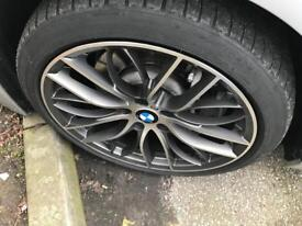 """Bmw wheels 19"""" and run flat tyres"""