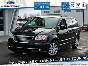2016 Chrysler Town & Country **TOURING*STOW N'GO*DVD*CAMERA*CRUI
