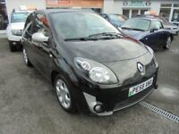 Renualt Twingo GT 16V, 1.1 Petrol 3 door 2008 (58) Black