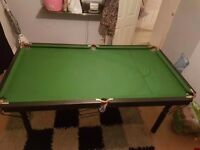 Pool and Snooker table for sale!